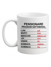 Cană - Pensionare