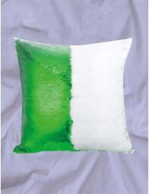 Perna cu paiete reversibile personalizata verde