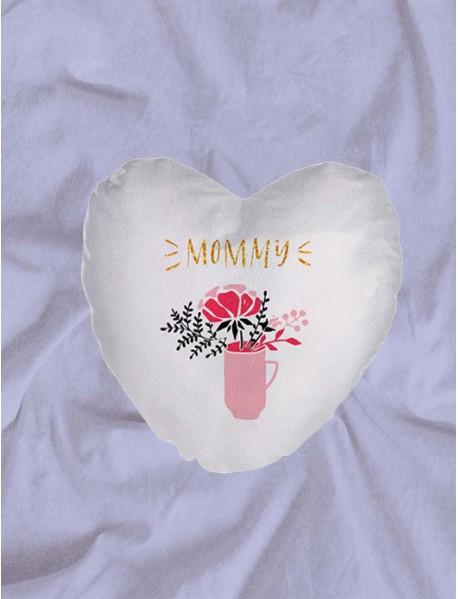 Perna personalizata inima alba