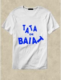 Tricou alb personalizat alb - Tată de băiat