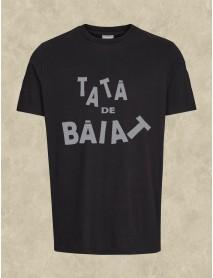 Tricou negru personalizat - Tată de băiat