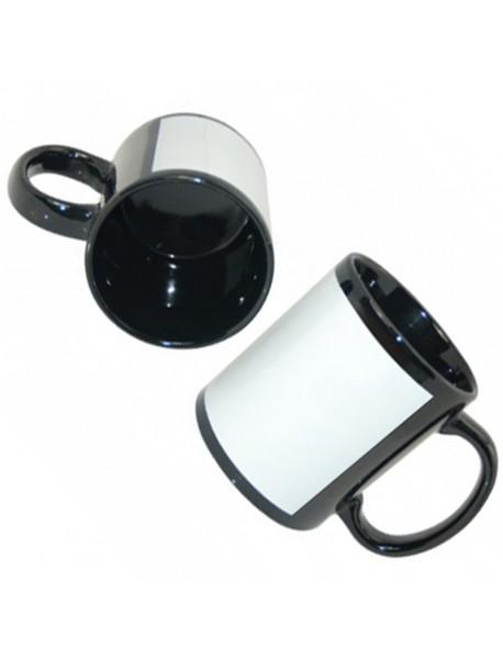 Cană personalizată Patch black