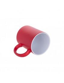 Cană termosensibilă roșie