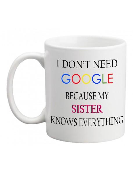 Cană - I do not need google