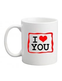 Cană - I love you