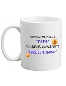 Cană - Numele meu este TATA