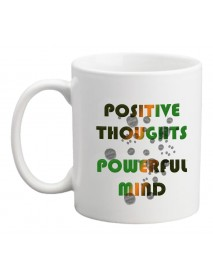 Cană - Positive thoughts - powerful mind