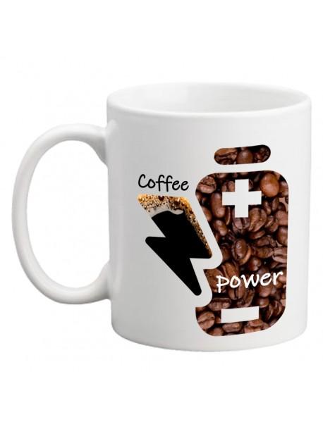 Cană personalizată - Coffee power