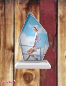 Cristal personalizat trofeu