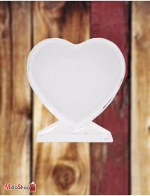 Cristal personalizat inimă