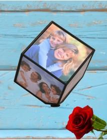 Cub foto personalizat rotativ cu 6 poze