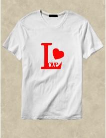 Tricou personalizat alb - Love