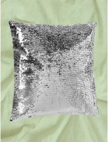 Perna cu paiete reversibile personalizata argintie