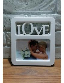 Ramă foto personalizată - Love