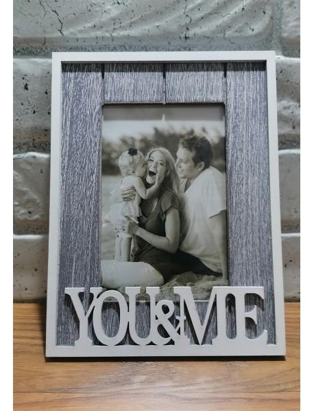 Ramă foto personalizată - You and Me