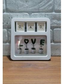 Ramă foto personalizată - Dad