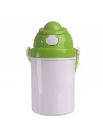 Bidon plastic copii verde 400 ml