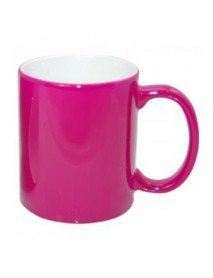 Cană termosensibilă lucioasă roz