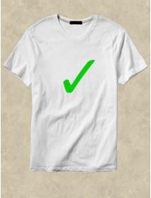 Tricou personalizat alb