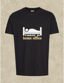Tricou personalizat negru - Home office