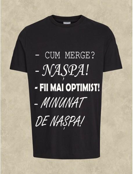 tricou personalizat negru - Cum merge